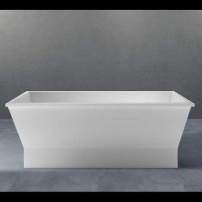 Bañera integrable solid surface 1670 X 670 X 553 mm ext.