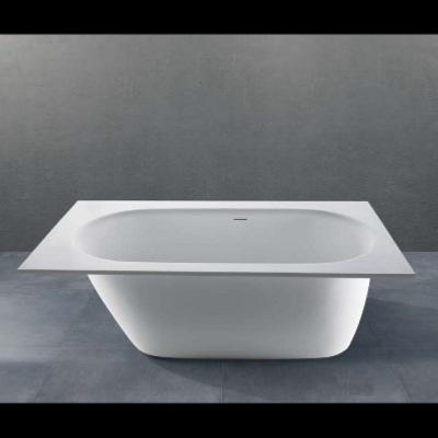 Bañera integrable solid surface 1611 X 719 X 440 mm int.