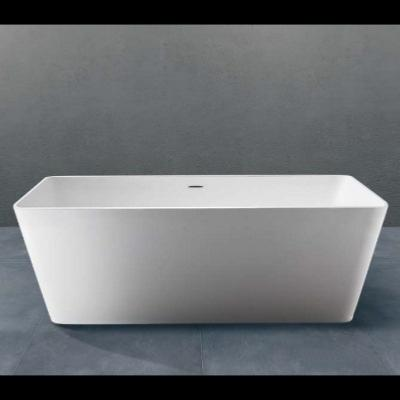 Bañera solid surface exenta 1698 X 750 X 570 mm ext.