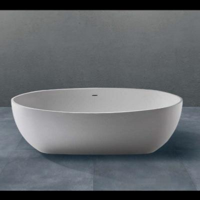 Bañera exenta solid surface 1750 X 750 X 500 mm ext.