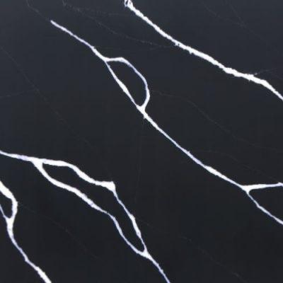 Betacryl Betalite Marquina Black Placa Solid Surface 3050 x 1520 x 12 mm