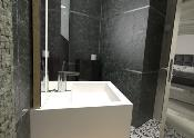 Lavabo solid surface Acrylic R5 50 X 35 X 10 cm Polar White